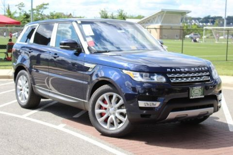 New 2017 Land Rover Range Rover Sport 5.0L V8 Supercharged With Navigation & 4WD